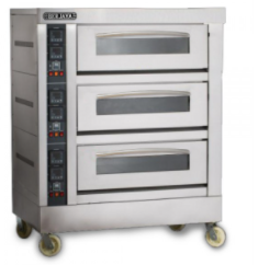 3 Deck Electric Oven