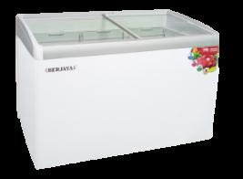 Glass Sliding Chest Freezer